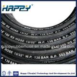 SAE100 R5/ câble tressé recouverts de textiles flexible en caoutchouc haute pression