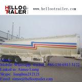 Helloo Schlussteil-Tri Wellen-Kohlenstoffstahl 33000 Liter Heizöl-Tanker-LKW-halb Schlussteil-