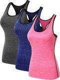 De vrouwen drogen het Geschikte Mouwloos onderhemd van het Onderhemd van de Sportkleding