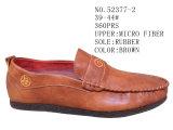 De bruine en Kaki Schoenen van het Leer van de Manier van de Schoenen van Mensen