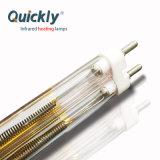 Tubo duplo de quartzo de alta qualidade 11*23mm reflector de ouro de Ondas Médias Emissor de aquecimento por infravermelhos