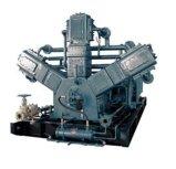 Compresor de aire de alta presión del pistón del animal doméstico libre de Oill que sopla (KSP132/90-30)