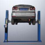 Elevador hidráulico do carro da placa de assoalho de dois bornes