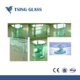 ISO/Ce/SGSの証明書が付いている明確か青くまたは青銅色または緑の強くされたガラス