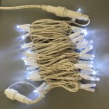 Cabo de borracha IP65 Luz de String de Natal de LED