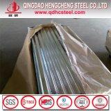 Feuille ondulée de toiture de zinc en métal bon marché de Dx51d Dx52D