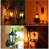Efeito da chama comparação lâmpada LED 7W 1300K E27