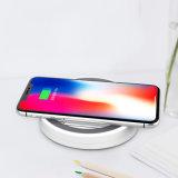 Qi portátil Mobile soporte de teléfono inalámbrico para coche Cargador de teléfono móvil de la almohadilla de carga rápida de la placa de cargador de batería para iPhone y Samsung