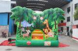 Obstacle gonflable de forêt de parcours de combattant de PVC pour l'usage de location commercial (CHOB1107-L)