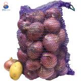 China Violeta PE Bolsa Raschel para hortalizas
