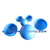65mm en plastique en polypropylène de couleur Bleu sphère creuse / grand bal