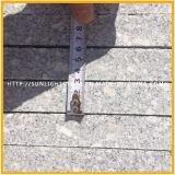 Granit gris impérial de Flamed Natural pour plancher, escalier