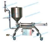 De halfautomatische Machine van het Flessenvullen voor de Saus van de Spaanse peper/de Saus van de Boon/Pindakaas (pgf-150S)