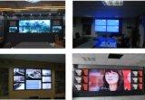 suelo de aluminio de la pantalla táctil 46inch que coloca la pared video que empalma del LCD