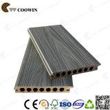 옥외 Waterproof 3D Wood Grain CO Extruded WPC Wood Composite Decking