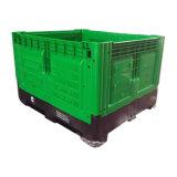 Engranzamento dos vegetais 1200*1000 que dobra a caixa de pálete plástica para a venda