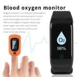 血圧の血の酸素が付いているスマートなブレスレット