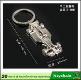 Coche de competición de encargo Keychain