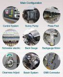 máquina de corte hidráulica do Nc da placa de aço de 4*3200mm com sistema de E21s