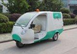 De Elektrische Riksja Met drie wielen/Elektrische van Bsc met Zonnepaneel