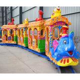 Los niños de diversiones Ride eléctrico vía tren elefante juguetes para Centro Comercial