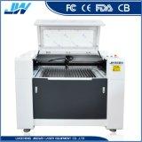 Ce- Certificaat 6090 de Machine van het Knipsel en van de Gravure van de Laser van Co2 voor Acryl/Houten/Leer