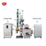 Laboratoire de l'équipement de distillation sous vide Évaporateur rotatif Prix Rotovapor numérique