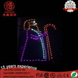 LED Rope 110V Nativity Manger Scene 2D Motif Christmas Light for Holiday Decoration