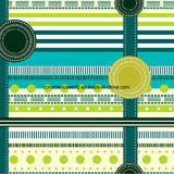 100%Polyester 녹색 기장 Pigment&Disperse는 침구 세트를 위한 직물을 인쇄했다