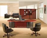 Mesa de madeira executiva de design luxuoso de design (HF-ES80)