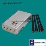 8 주파수 대 4개의 안테나 (GW-JN8DGN)를 가진 휴대용 이동 전화 신호 방해기