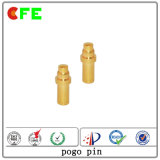 Kundenspezifische BAD Gold überzogene Pogo Pin-Fabrik