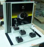 Crémaillère d'étalage acrylique de montre de partie supérieure du comptoir Btr-F1005