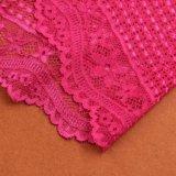 Textiles Dentelle à la dentelle noire en tricot