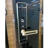 Blocage de porte intelligent de mot de passe de clavier numérique biométrique d'empreinte digitale pour la porte à la maison
