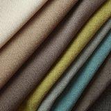 Polyester teignant le double tissu de capitonnage de couleur