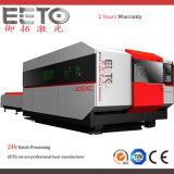 Cortador de laser de fibra de alta potência para corte CS / SUS / Ss / Alu / Folha galvanizada