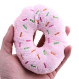 Lovely Pet Squeaker Plush Donut Toys