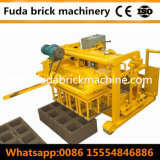 Подвижные конкретные полой машина для формовки бетонных блоков гидравлической системы