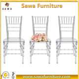 Cadeira desobstruída Wedding de Chiavari Tiffany do evento da resina