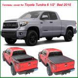 100%はトヨタのツンドラ6のためのトノーカバー部品に1 2 '短いベッド2007-2015年一致させた