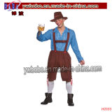 Mens Fancy Dress Costumes de carnaval Oktoberfest Halloween Party (H2035)