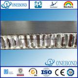 Panneau en aluminium de nid d'abeilles de fibre de verre pour le revêtement de mur