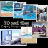 지면 벽을%s 기계 UV 평상형 트레일러 인쇄 기계를 인쇄하는 3D Anamorphose