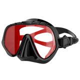 Snorkeling установленная шестерня - маска Snorkel малого объема сухая верхняя