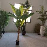 27 잎을%s 가진 최신 가정 장식적인 인공적인 플랜트 바나나 나무