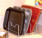 Pantry dell'armadio da cucina e supporto della cremagliera dell'organizzatore di Bakeware