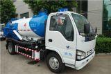 Тележка всасывания нечистоты Isuzu 5000L с вачуумным насосом для всасывать отход