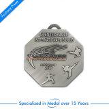 Carnaval de souvenirs de gros personnalisé Médaille d'or Médaillon en OR Blanc insigne Award