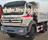 caminhões de descarregador de 340HP Beiben com corpo do tipper de 20 cbm